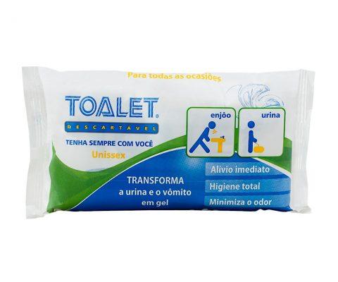Toalet descartável (sem acessórios)