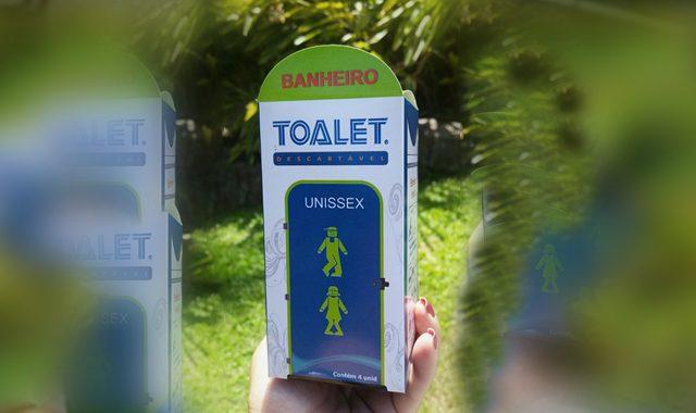 Solução para falta de banheiro público.
